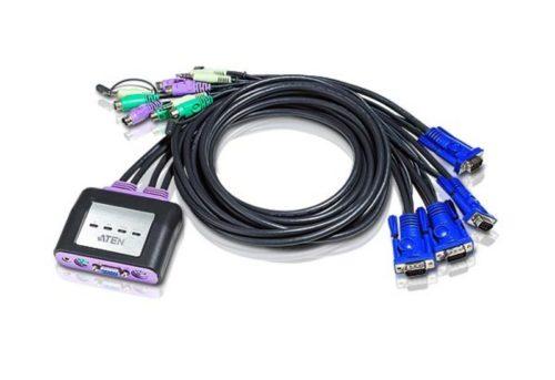 4-Port PS2 & VGA KVM Switch