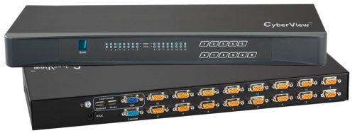 16-Port KVM Switch